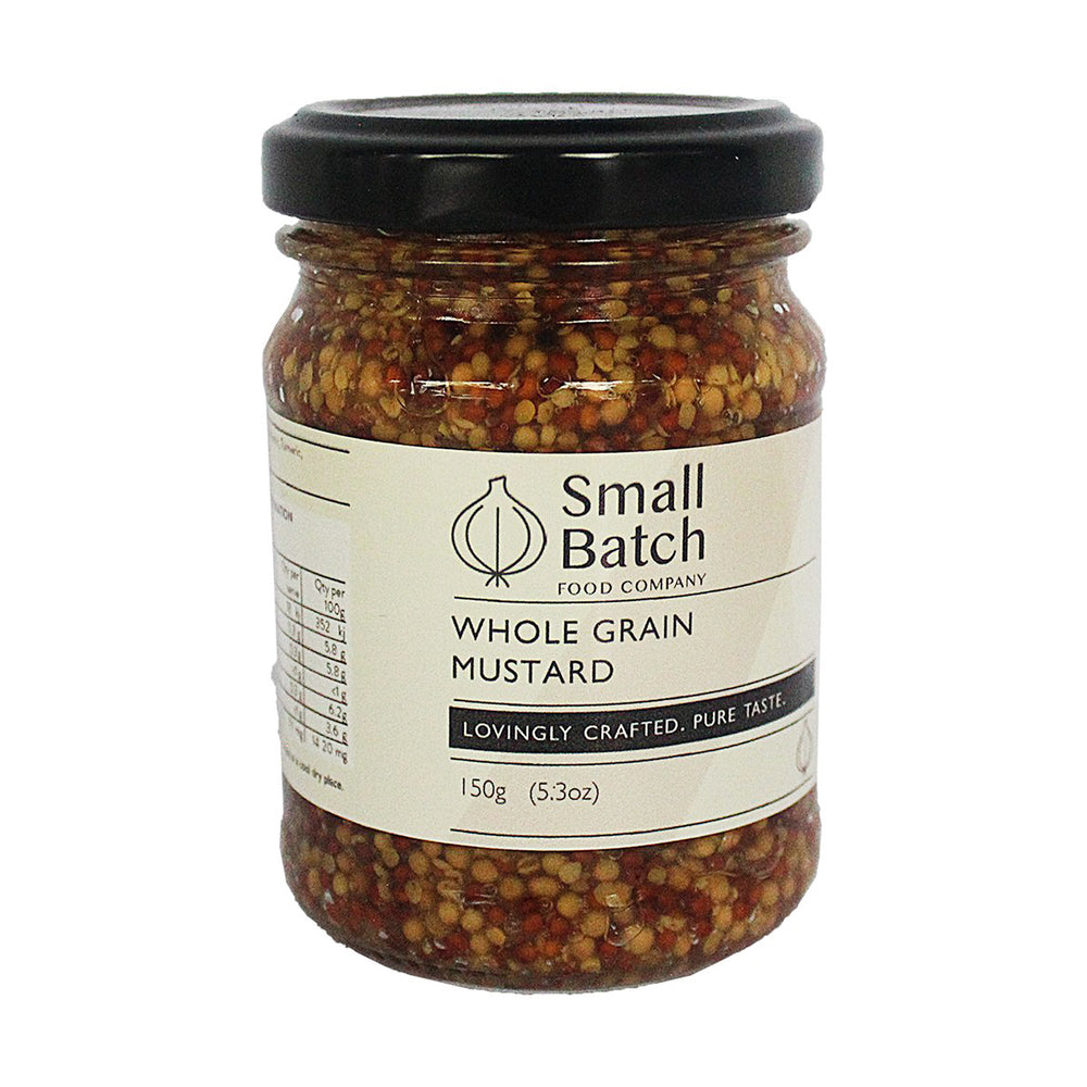 Wholegrain Mustard by Small Batch 150g