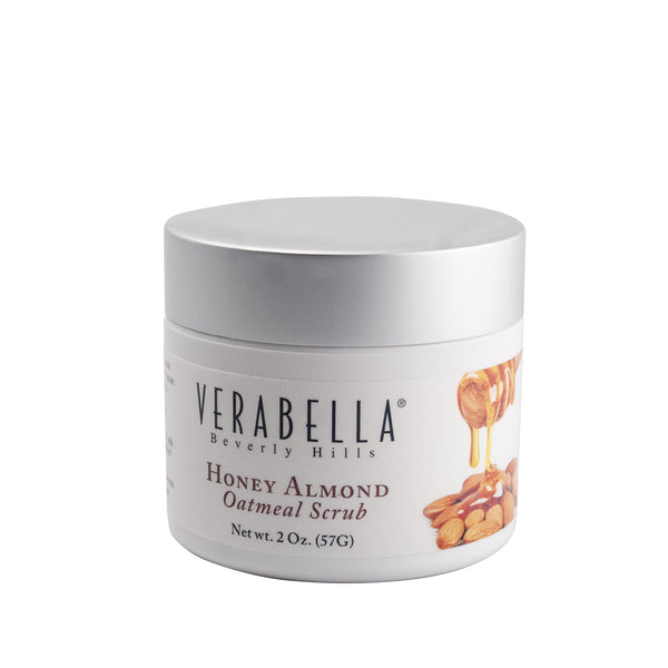 Honey Almond Oatmeal Facial Scrub - Verabella Beverly Hills