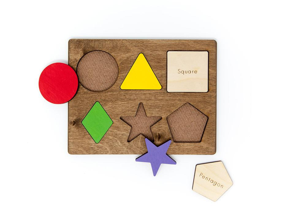 Classic Shapes and Colors Puzzle