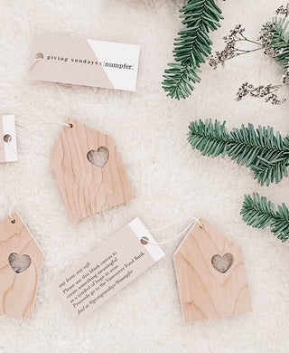 GIVING SUNDAYS X NUMPFER HOLIDAY ORNAMENTS