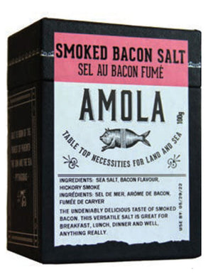 AMOLA SALT - HICKORY SMOKED BACON SALT