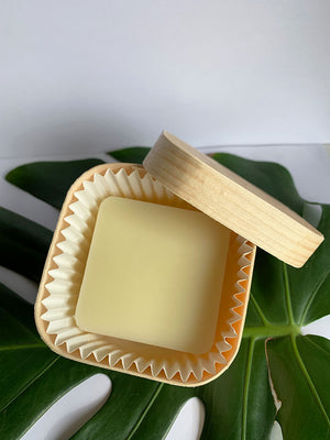 Bamboo Conditioner Bar Holder