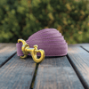 Amethyst Dog Leash Gold Collection
