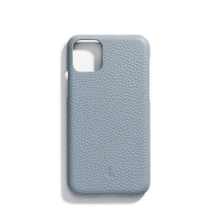 oyster-main-blue personalized premium leather iPhone 11 phone case