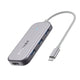 BW-TH5 7 in 1 USB-C Data Hub with 3-Port USB 3.0 TF Card Reader USB-C PD Charging 4K-AULEY