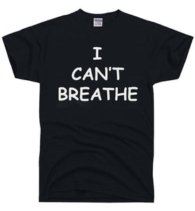 I Can't Breathe Artwork Printed Tee-T-shirt-AULEY