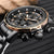 Men's Quartz Steel Chronograph Watch-Men's Watches-AULEY