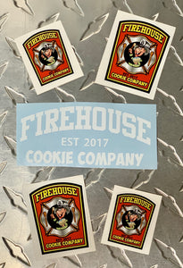 FCC Sticker Pack - Firehouse Cookie Company