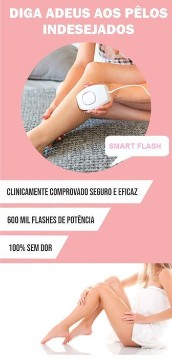 Depilador Laser Smart Flash
