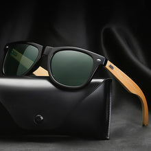 Load image into Gallery viewer, Classic Bamboo Wood Sunglasses