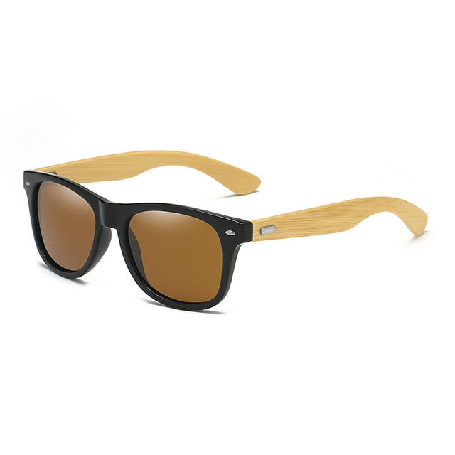 Classic Bamboo Wood Sunglasses