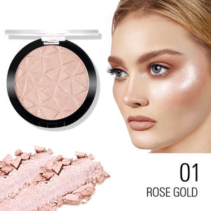 SACE LADY 6 Color Highlighter Powder Glitter Palette Makeup