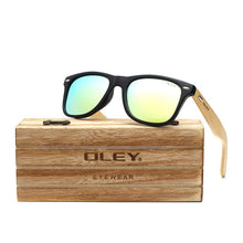 Load image into Gallery viewer, Bamboo Leg Polarized Sunglasses