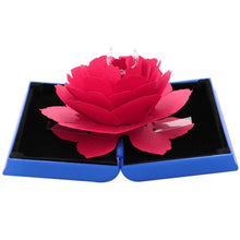 Load image into Gallery viewer, Foldable Rose Ring Box