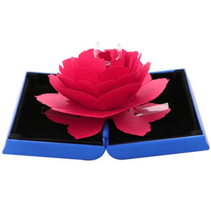 Foldable Rose Ring Box