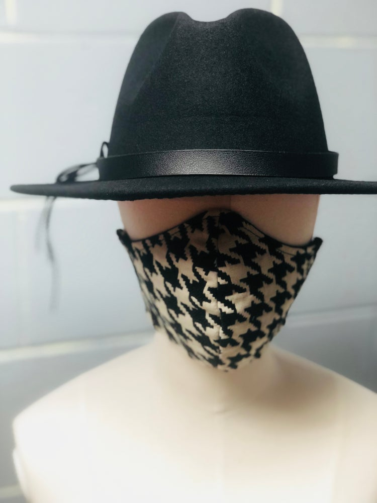 Fabric Mask - Houndstooth