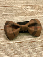 Load image into Gallery viewer, Browns... Bow tie
