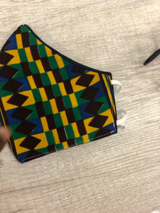 Fabric Mask -Ankara Collection