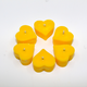 "Heart Of ""GOLD"" Naked Soy Wax Tealight 6 Pack"
