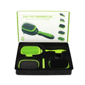 Paws2Tail - 5 In 1 Grooming Set