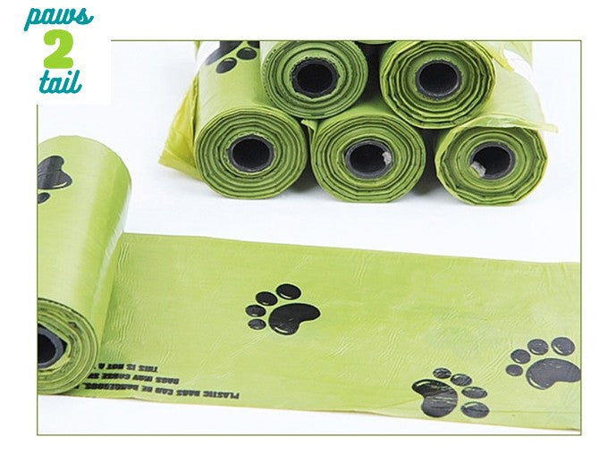Paws2Tail Biodegradable Pet Poop Bags