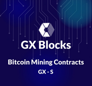 """GX-S"" Bitcoin Mining Contract 
