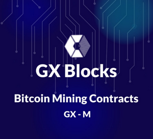 """GX-M"" Bitcoin Mining Contract 