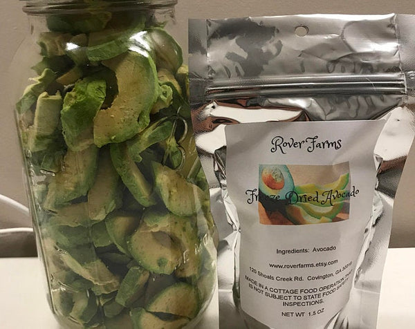 Freeze Dried Avocado