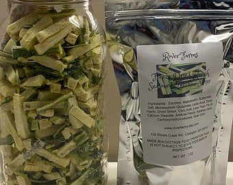 Freeze Dried Ranch Seasoned Zucchini Strips