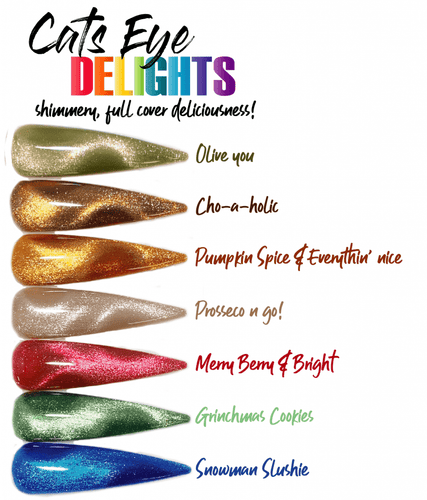 Cats Eye Delights - Full Set and Limited Open Stock