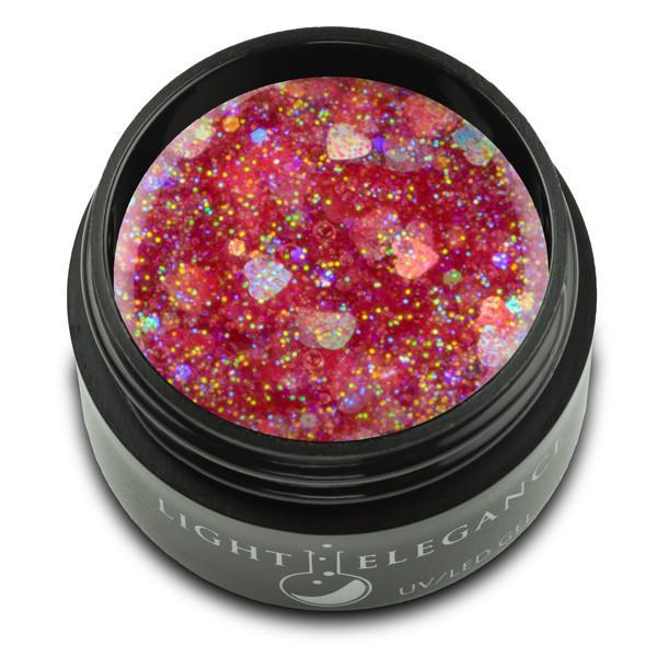 LE -  Sweetheart UV/LED Glitter Gel - 17ml