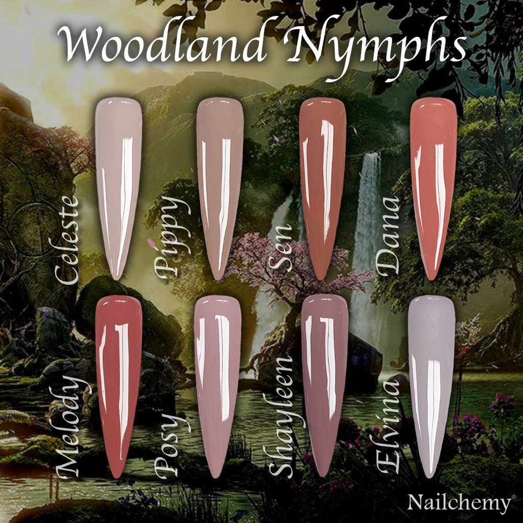 Woodland Nymphs Collection Full Set - 15ml bottles