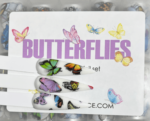 10pc. Butterflies Foil - PF