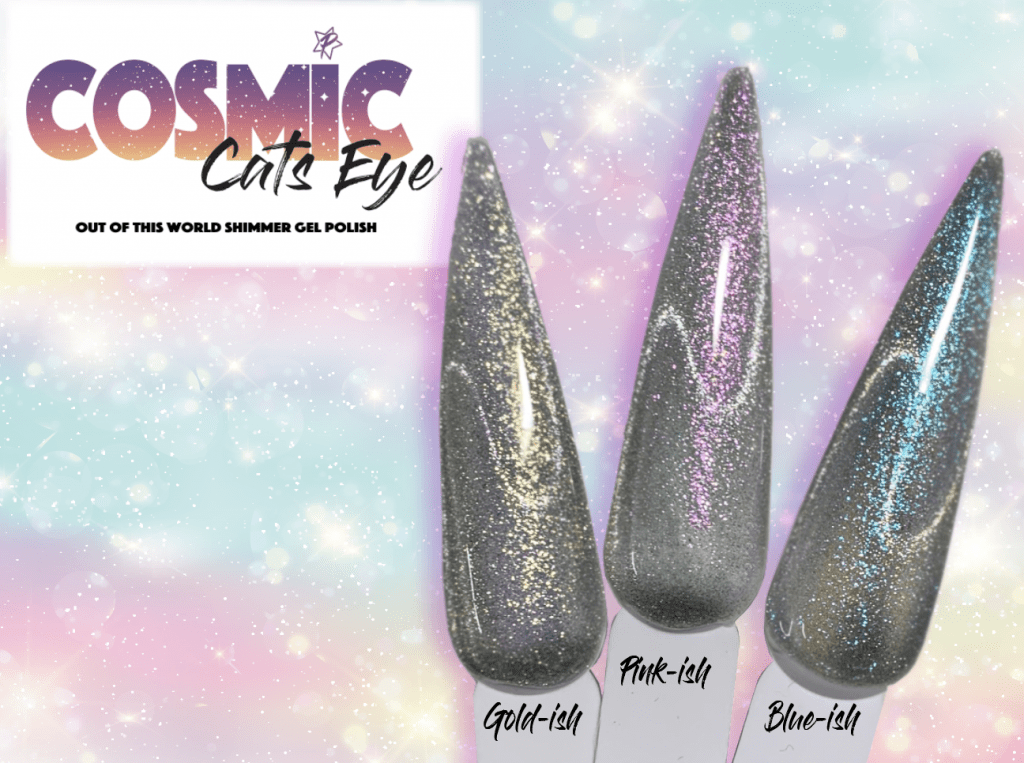 New!  Cosmic Cats Eye - Set or Open Stock