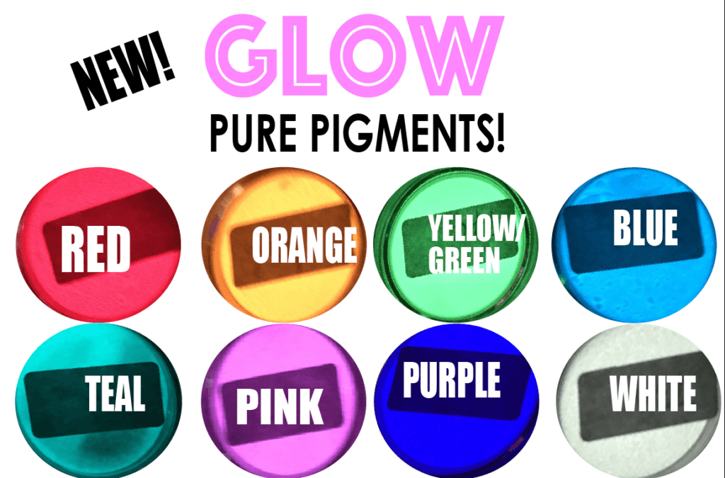 Ready...Set...GLOW! Pure Pigments - Yellow/Green (.25oz)