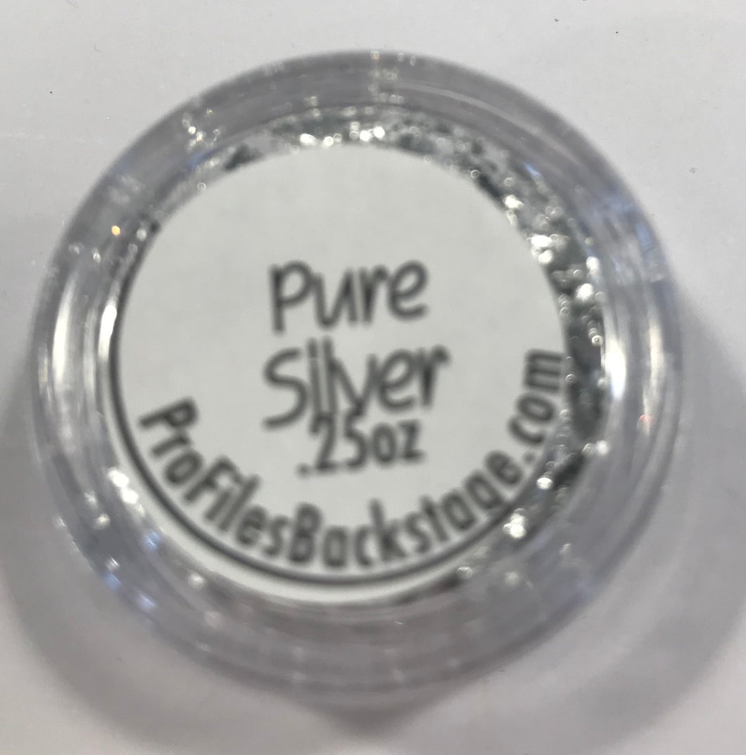 Pure Silver Flakes of Foil