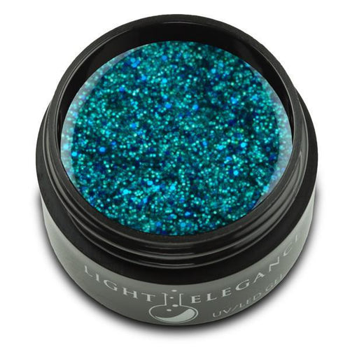 LE - Lagoon UV/LED Glitter Gel - 17ml