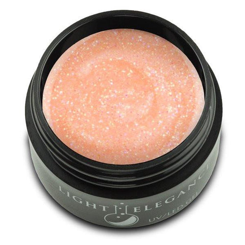 LE - Peachy UV/LED Glitter Gel - 17ml