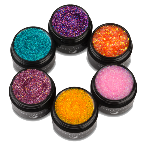 LE - Surf City UV/LED Glitter Gel - Full Collection
