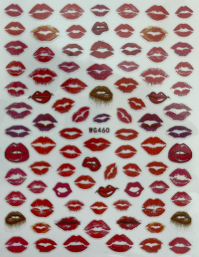 Pasties - Lips 2 Red Decals