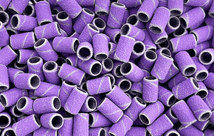 NEW! Purple Sanding Bands - 100 count