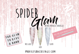 SPIDER GLAM!-  3 PC SET