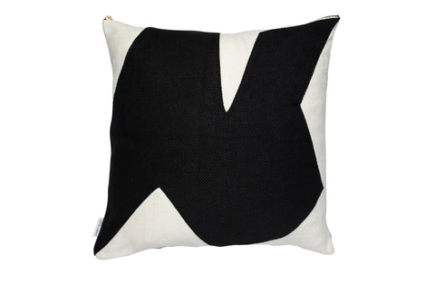 Forms of Beauty Series Style No9 Black & White Belgium Linen