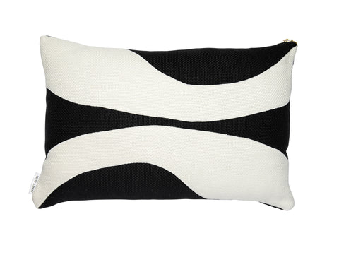 Forms of Beauty Series Style No.8 Black & White Belgium Linen