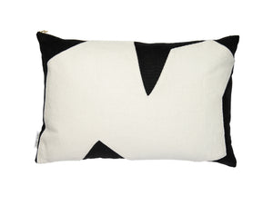 Forms of Beauty Series Style No.9 Black & White Belgium Linen