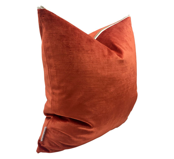 Paprika Velvet Pillow