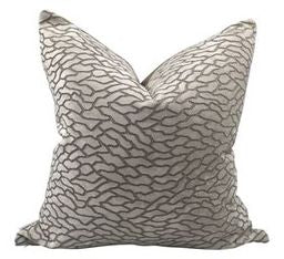 Cobblestone Velvet Pillow
