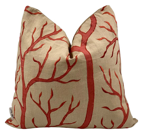 Beacon Hill Staghorn Coral Pillow