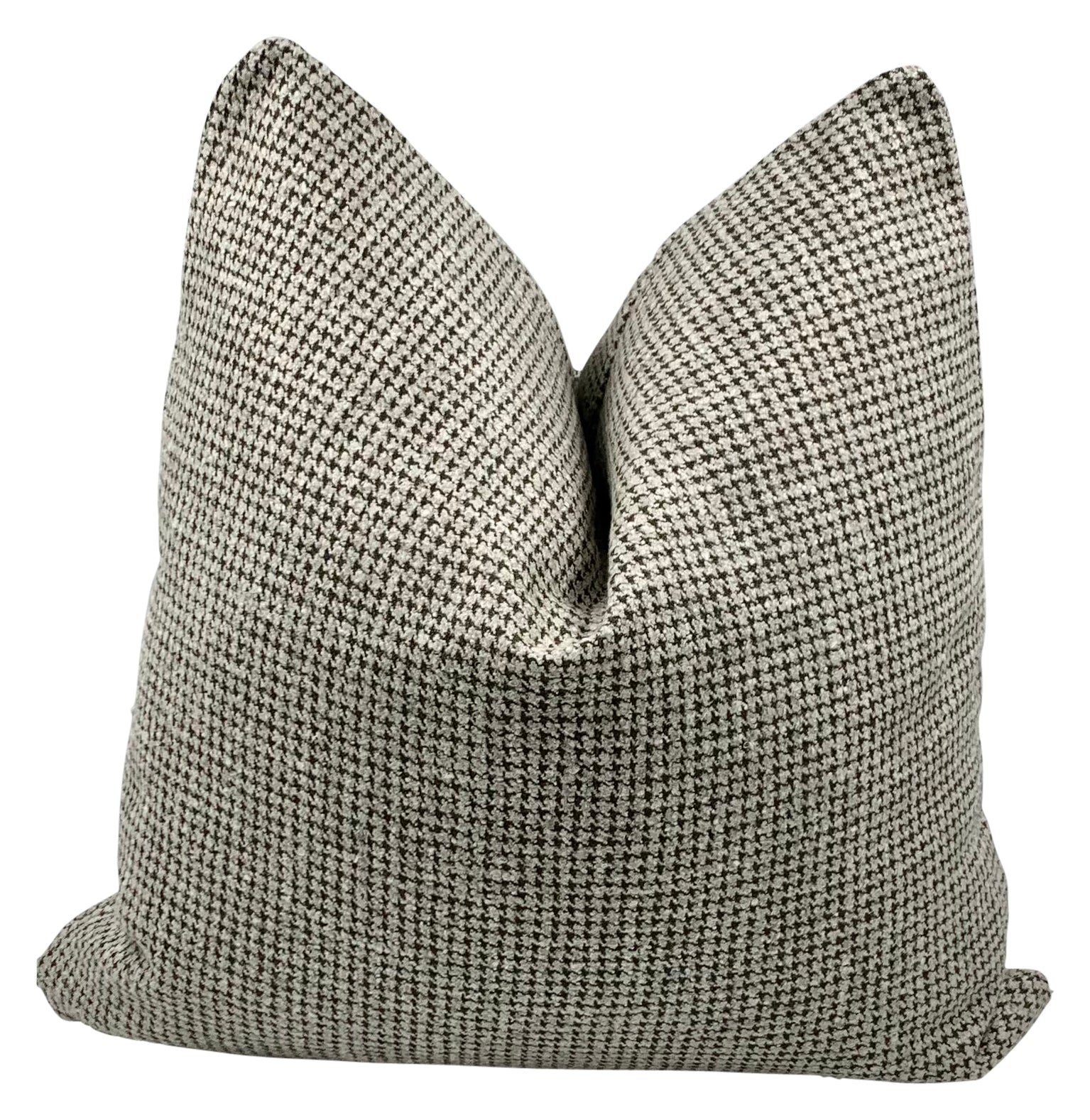Handstitched Houndstooth Pillow
