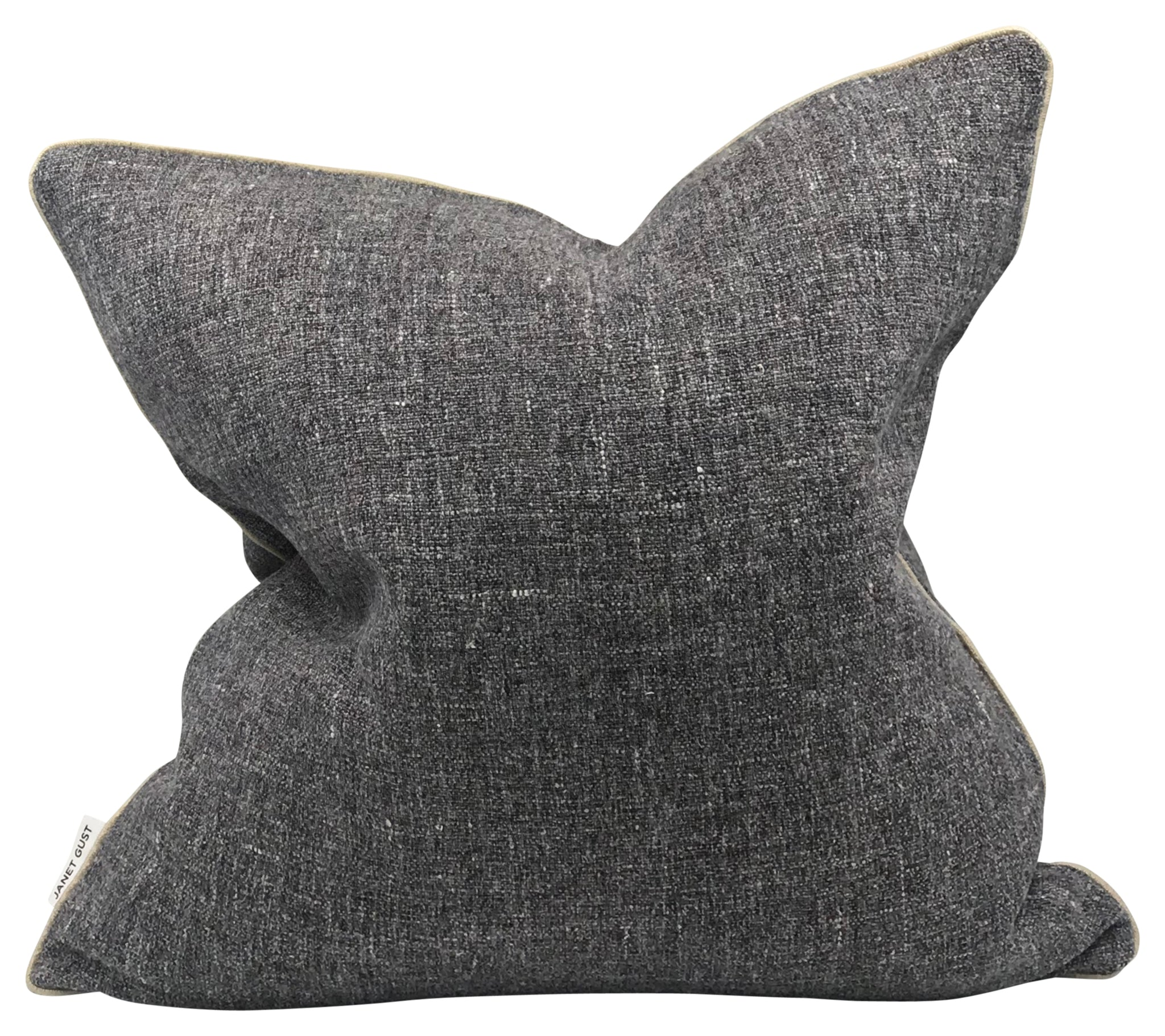 Indigo Speckle Linen Pillow